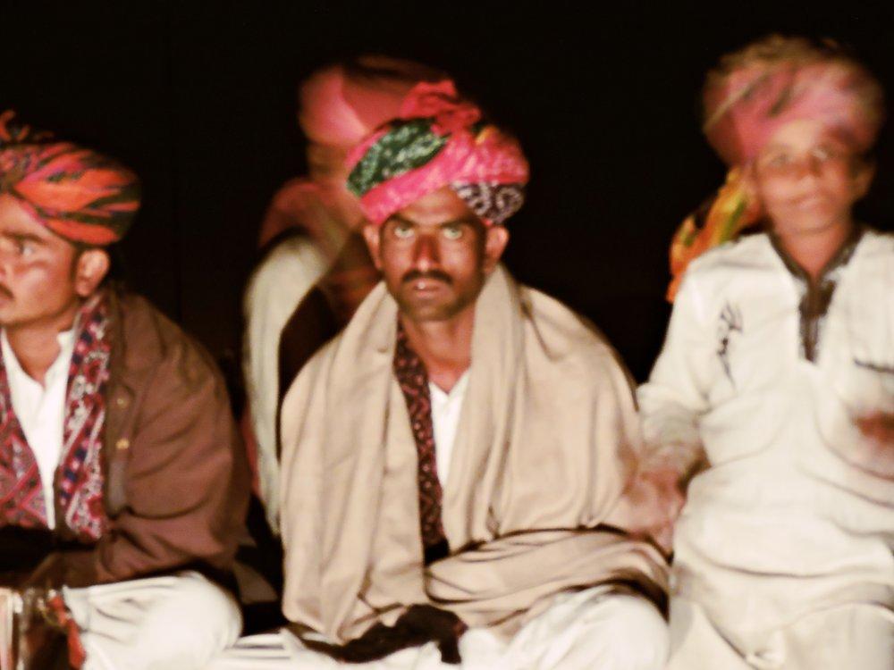 Folk Singer Performance in Manvar Desert Camp