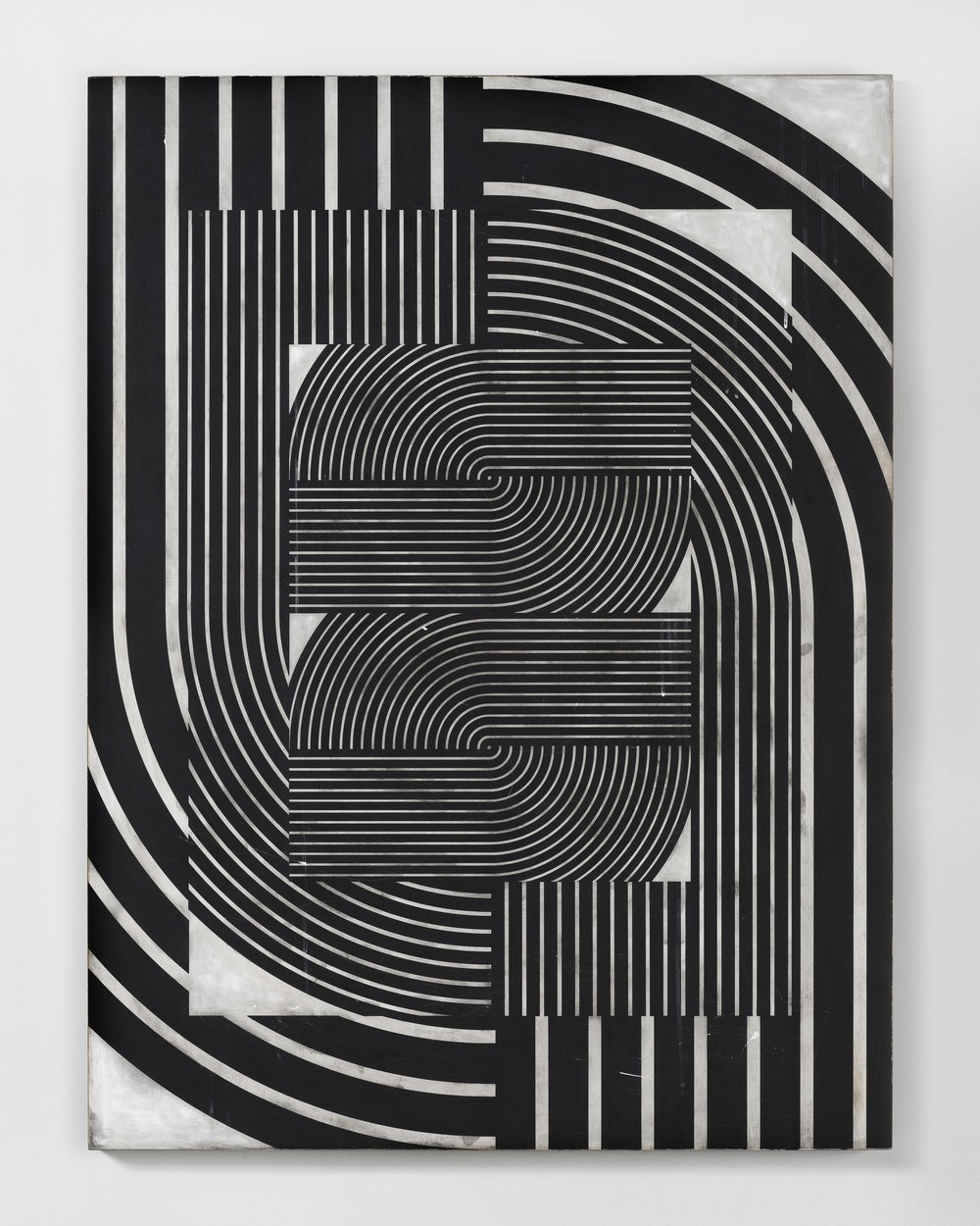 Davide Balliano -  Untitled_0061 , 2017,Plaster, gesso & lacquer on wood, 48 x 36 inches.Image courtesy Pablo's Birthday.