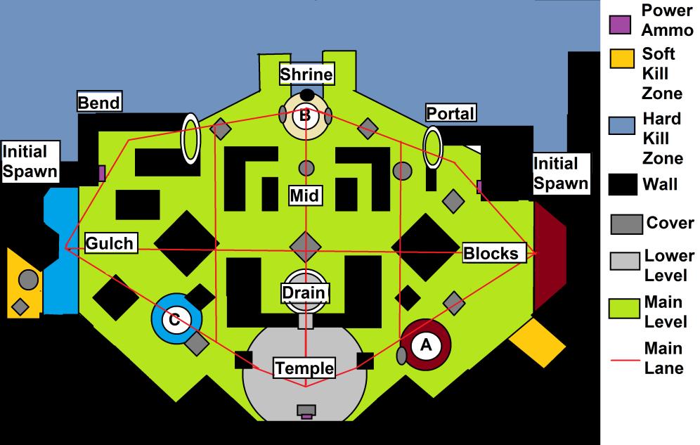 Endless Vale - Destiny 2 Control Map - by Mercules904, Destiny Massive Breakdowns