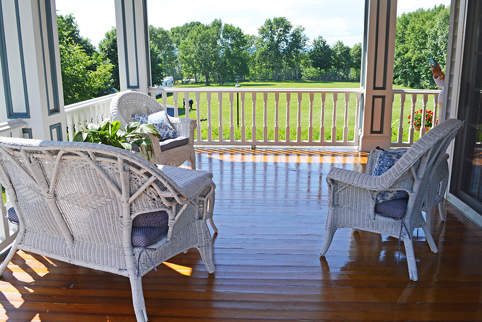 porch - who doesn't like relaxing on a good porch? we've got your covered (pun intended).