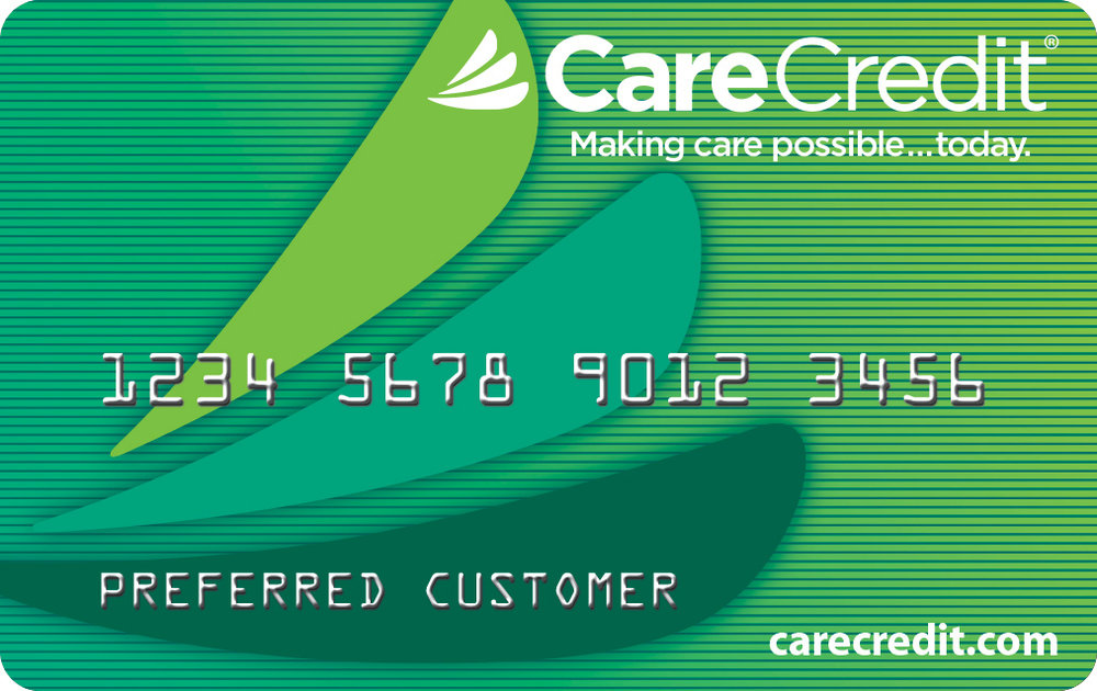 Care Credit offer financing options.