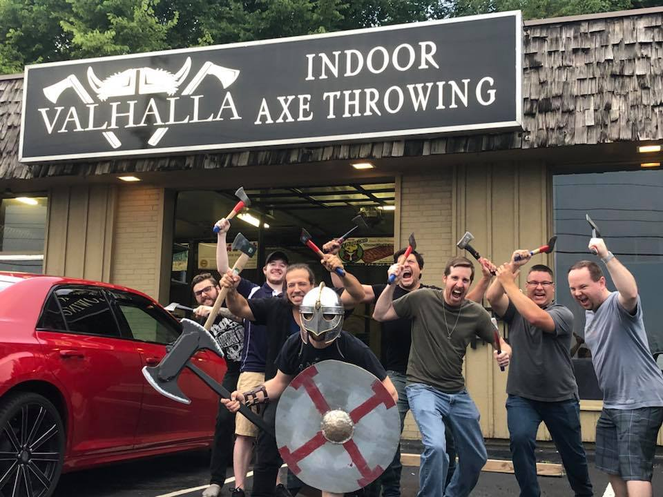 ValhallaIndoor Axe ThrowingFranchise. - Interested in opening an axe throwing venue? Team up with experienced entrepreneurs, avoid the mistakes that new business owners make, and benefit from the work that we have already put in to produce a low investment, high profit business for yourself. Become part of a booming industry and get your foot in the door with a well established brand. Complete the form below and someone will be in touch with you within 1 business day.