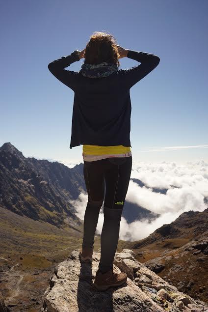 Trên đỉnh đèo Lauberina. Hình chụp bởi Minh.