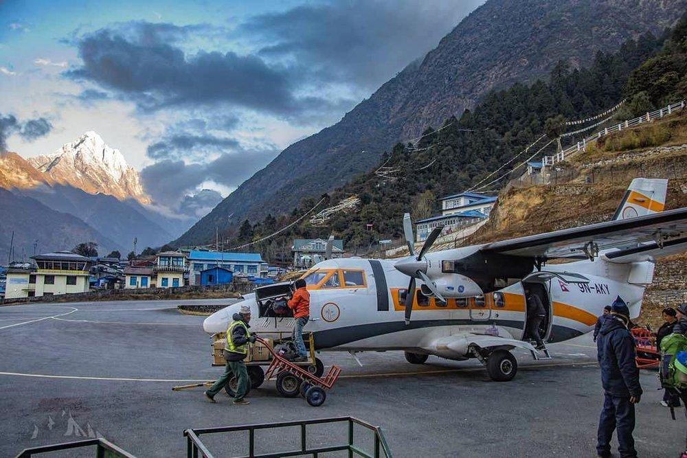 Lukla airport By Ujjiwal Rai