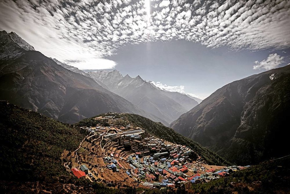 Namche Bazar By Mohan Duwal