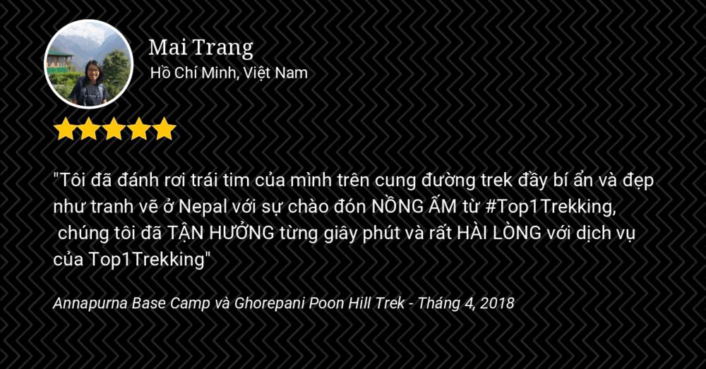ANNAPURNA BASE CAMP VÀ POON HILL TREK: CẢNH ĐẸP NHƯ TRANH VẼ