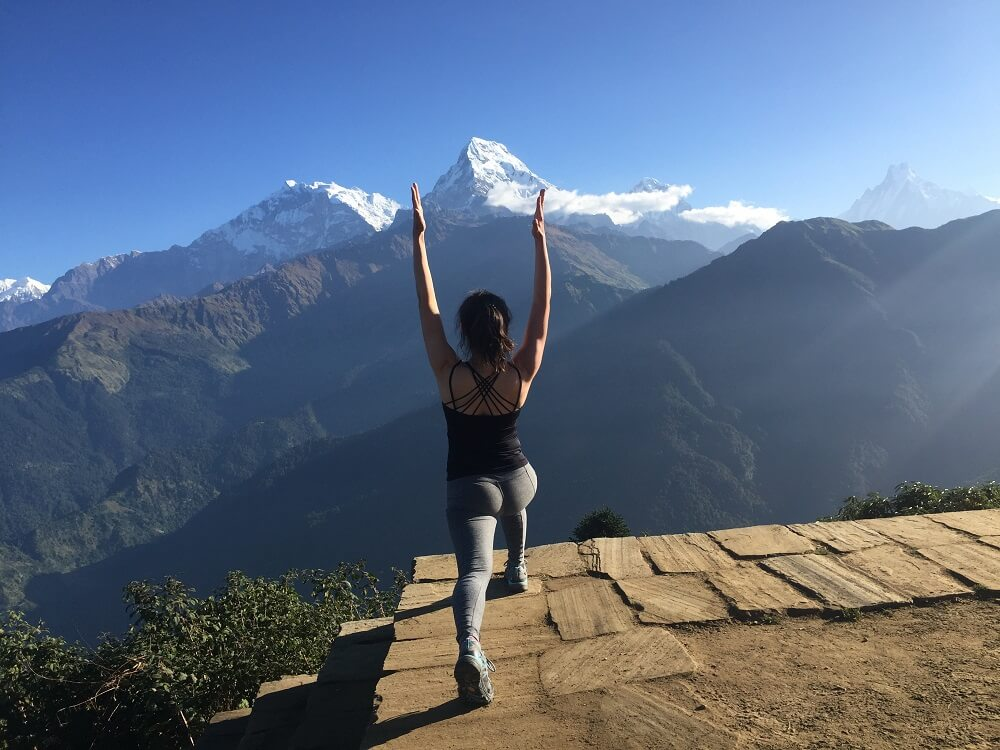 Salute the sun on top of Poon Hill is Magical experience