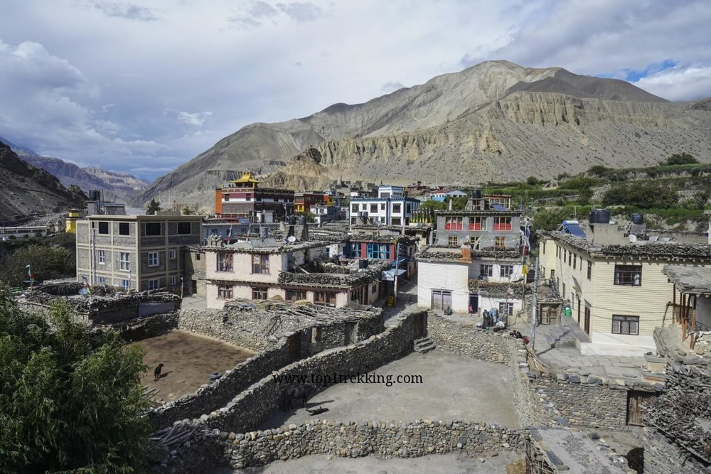 Kagbeni village, a gateway to Upper Mustang