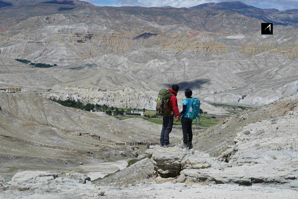 Thủ phủ Lo Manthang của vùng Upper Mustang