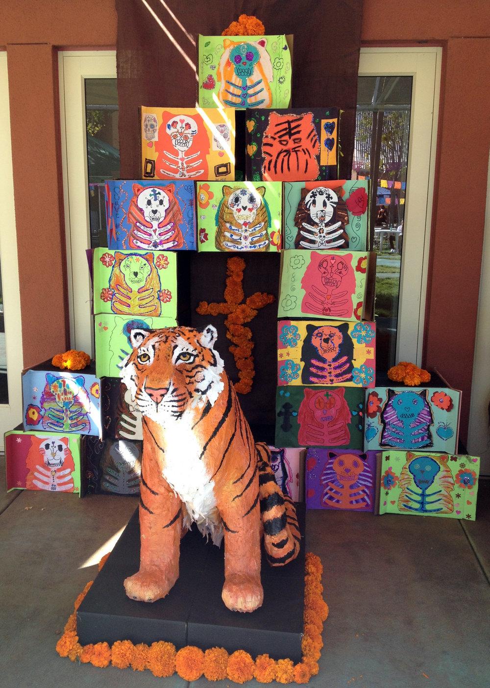 Tiger altar 2014