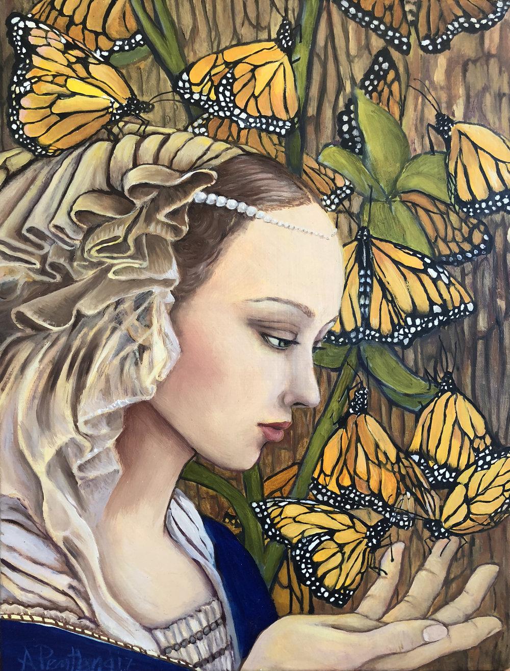 Monarch Madonna (study)