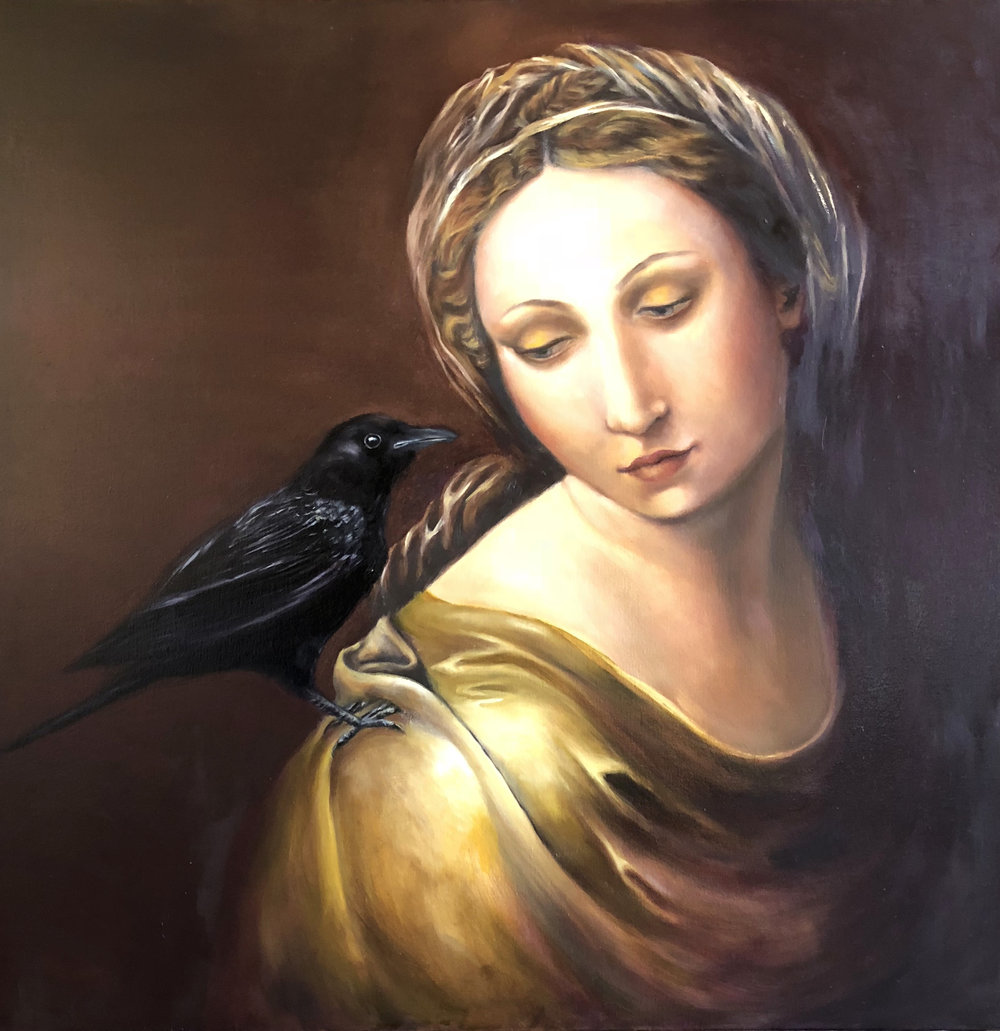 """Madonna and Crow"""