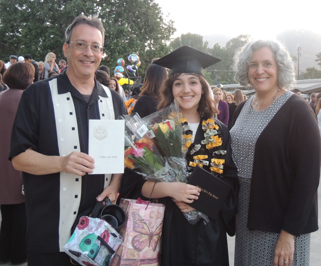 Graduate and Proud Parents