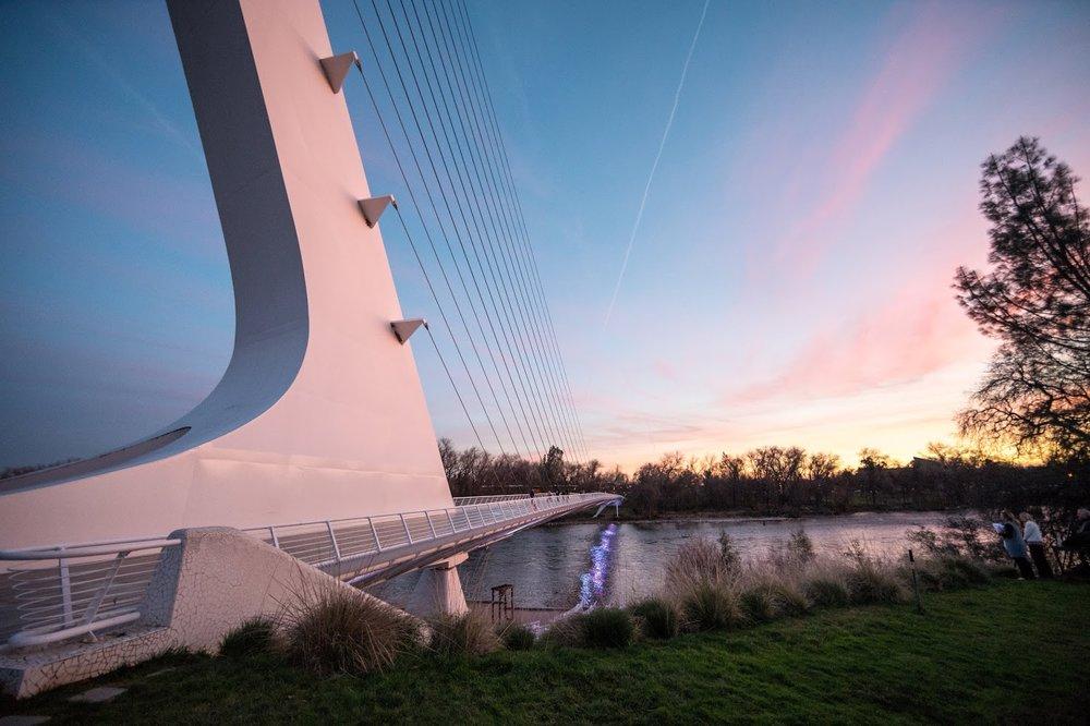 SUNDIAL BRIDGE -
