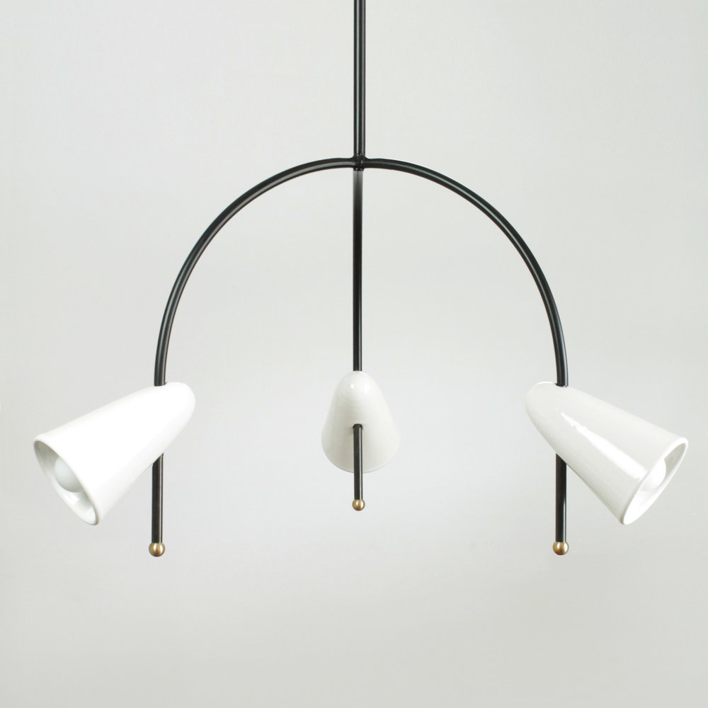 Arches Three Arm Chandelier - Coming Soon