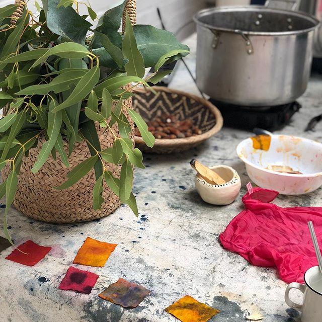Today's workshop was all kinds of goodness. Some folks traveled from Monterey and there was so much learning and connection going on. So many thanks to @naomipq for hosting us at her gorgeous @cloveandwhole.