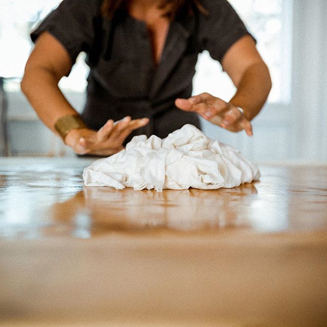 I'm in the studio making things for next weekend's Pop-Up Market at the always beautiful @cloveandwhole. We'll be selling an assortment of naturally-dyed pillows, napkins, wallhangings and the best damn kitchen towels ever. We'll be selling alongside @housework.store's line of amazing, cookware, ceramics and clothing and @jewelleshop's natural skincare products. Rumor has it @cloveandwhole is doing a giveaway - just RSVP and you'll be entered. Link in their profile. Come see me!  Photo by @abiqphoto