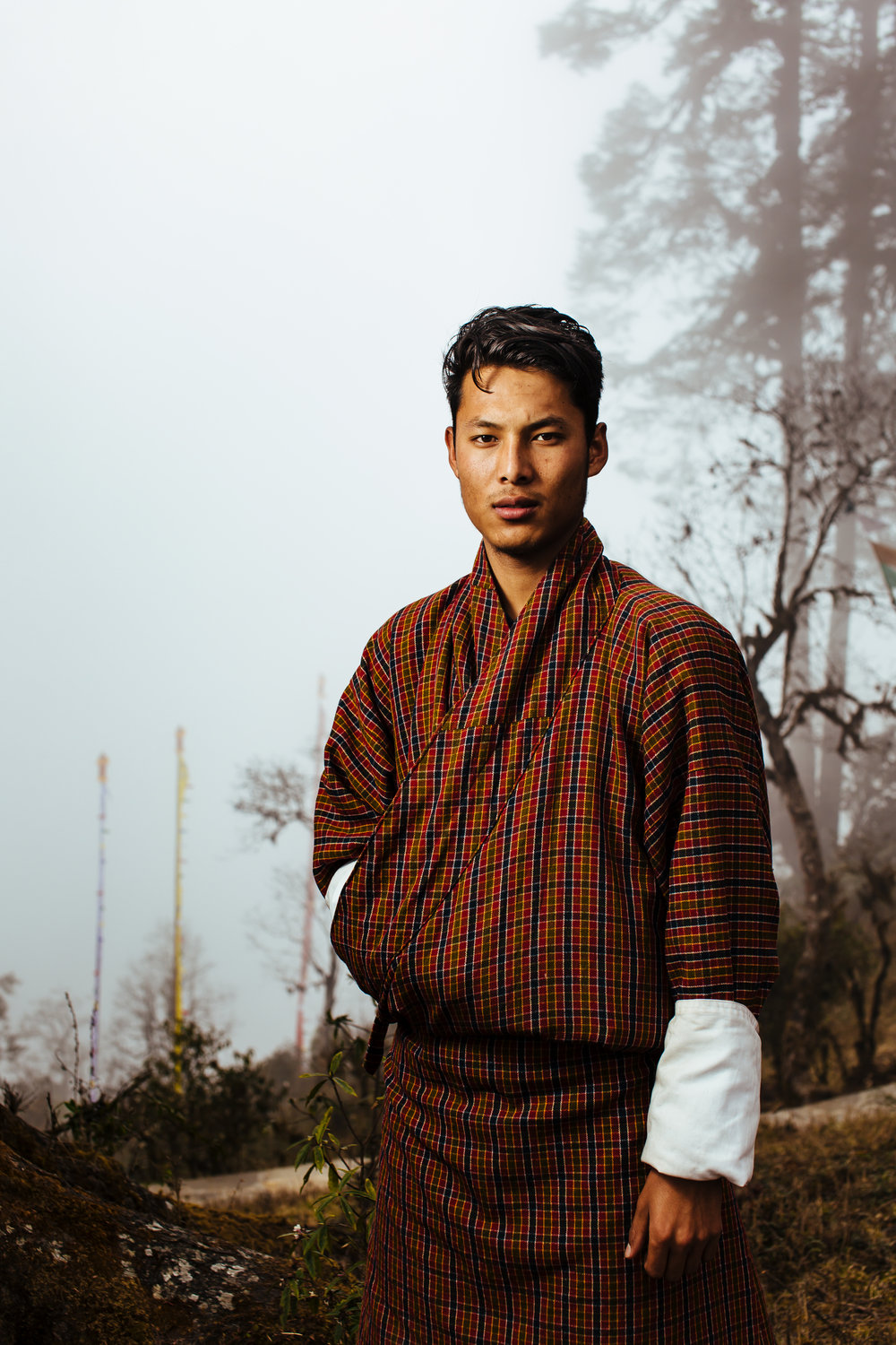 bhutan-traditional-man