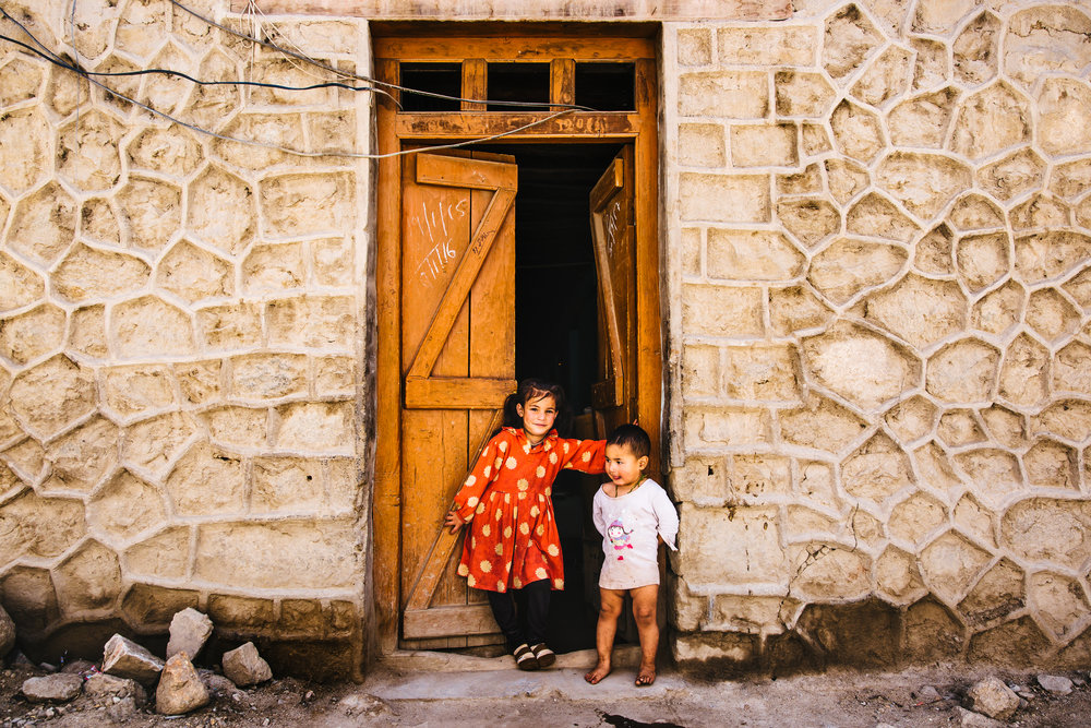 kids in  Leh