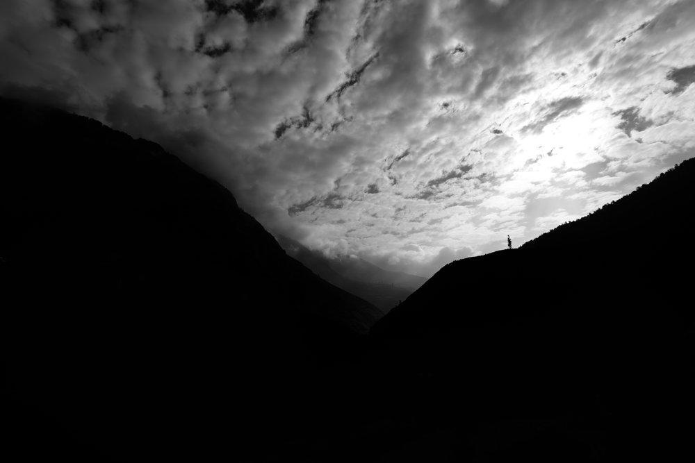 Himalaya silhouette