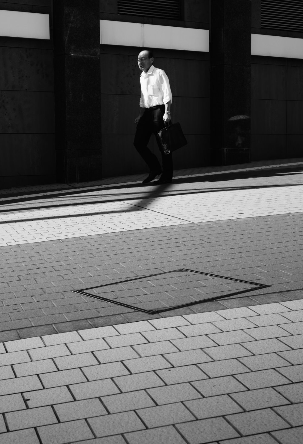 Salary Man Shadows