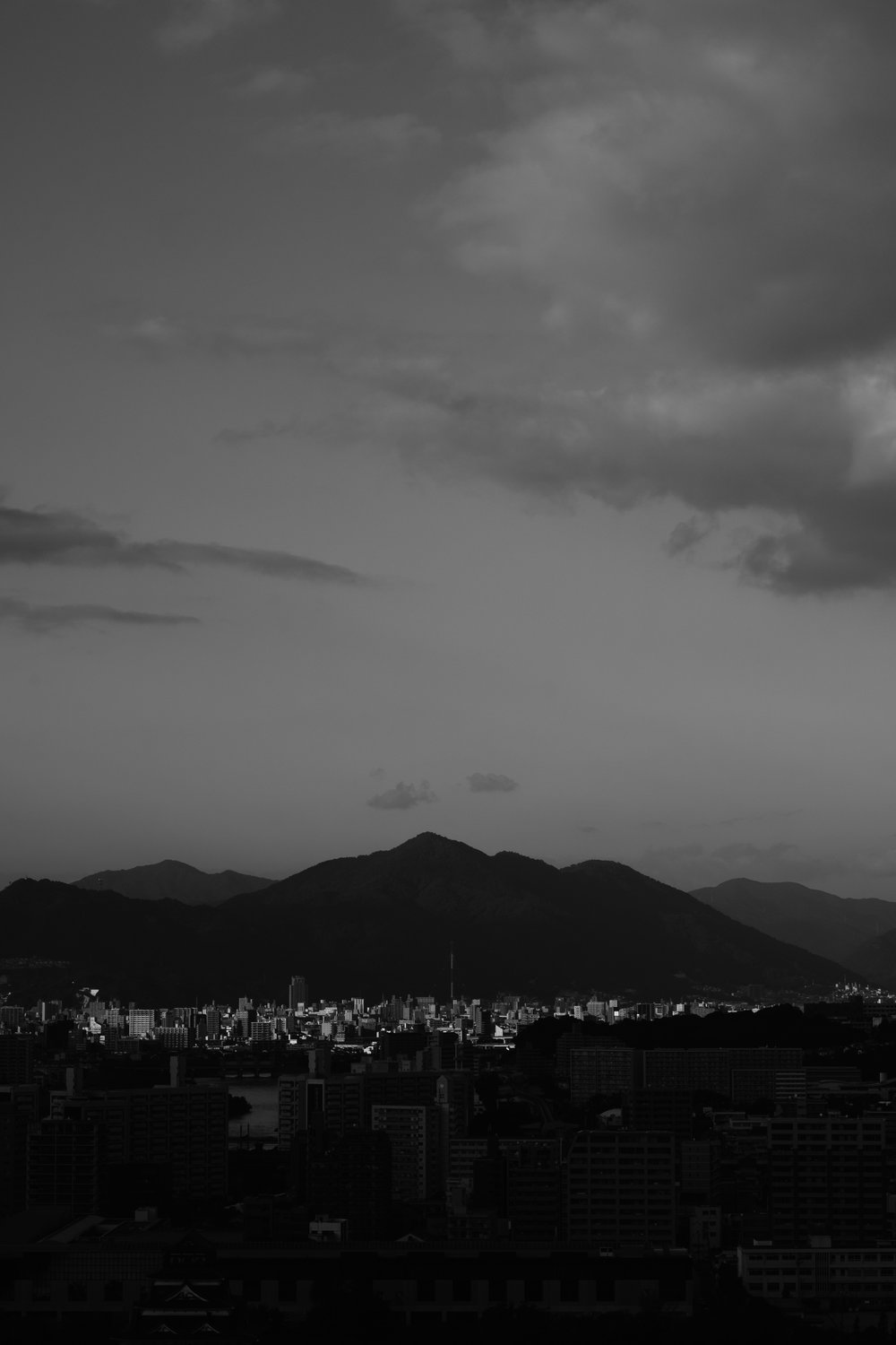 Hiroshima mountains