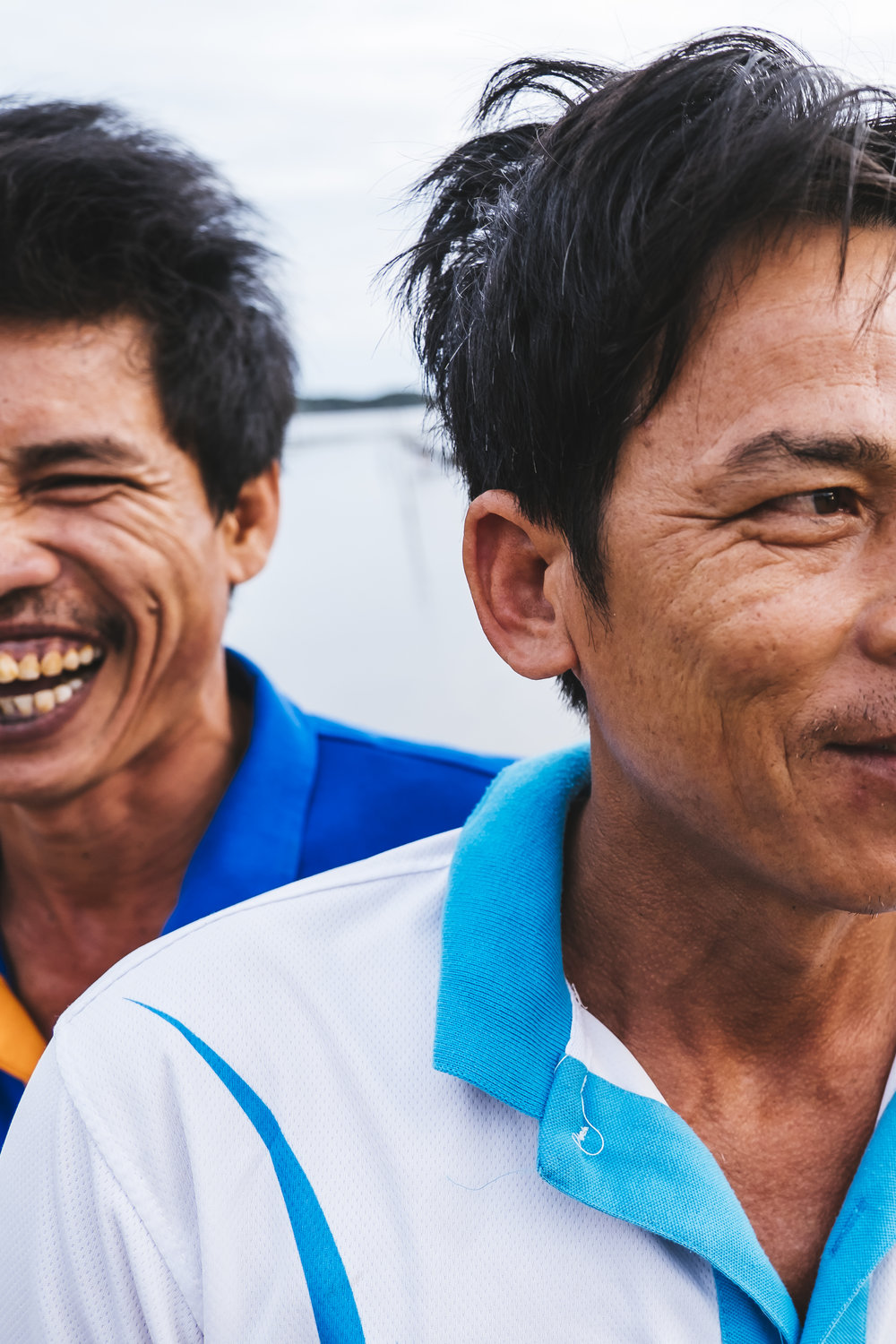 Vietnam dudes laughing