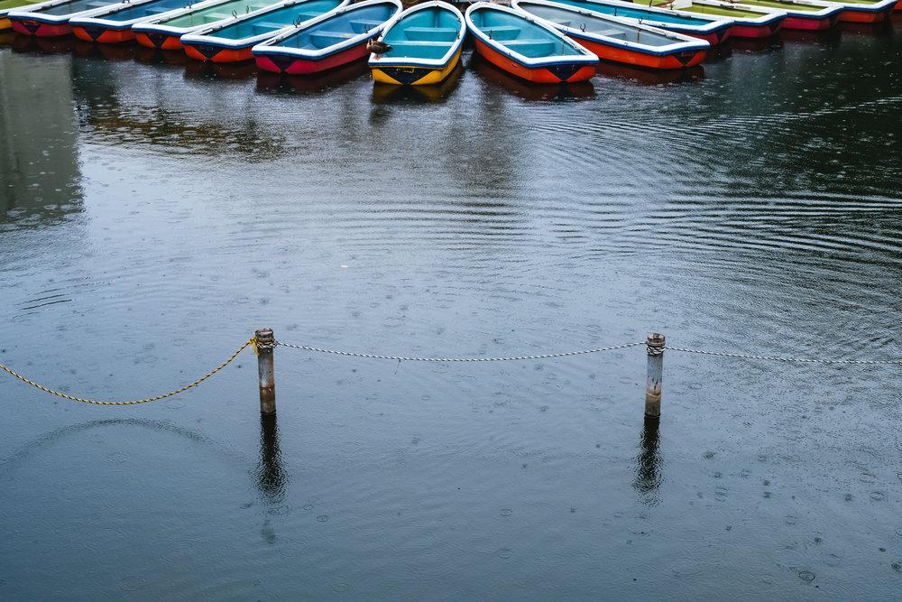 Boats Inokashira Park