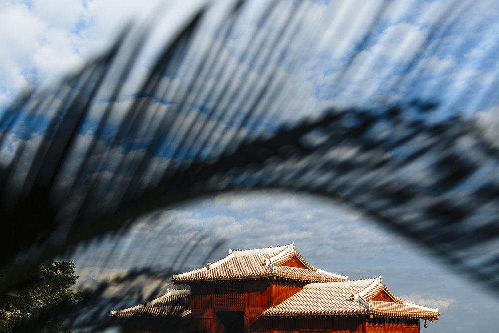 Shuri Castle Okinawa Entrance