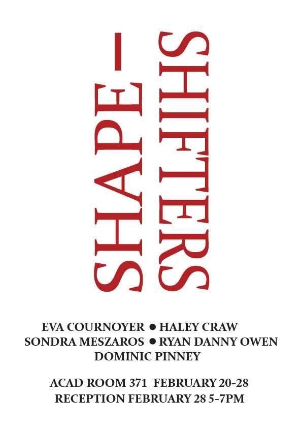 Shape-Shifters, 2017