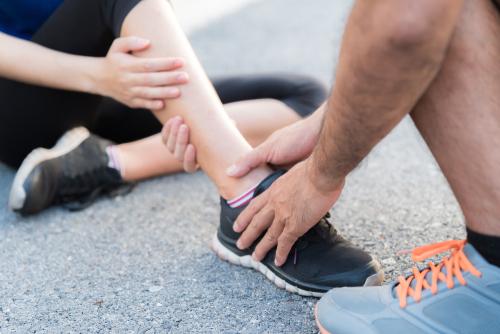sprains -