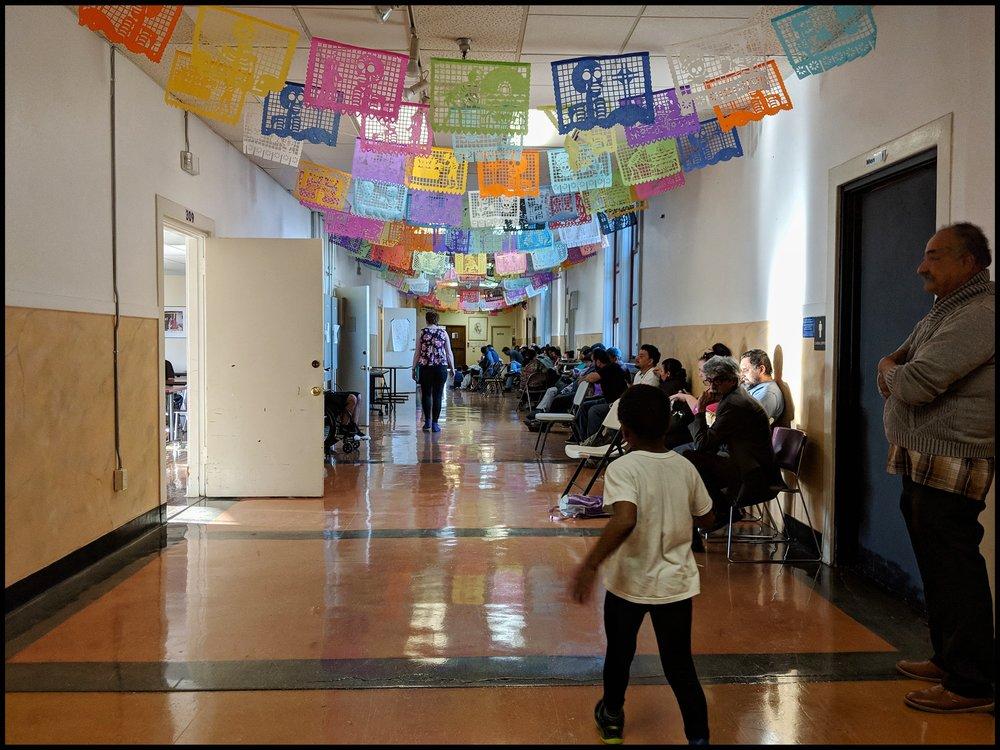 La vista de la clinica legal en Seattle. Hay abogados que hablan espanol que pueda ayudarte con tus problemas legales.
