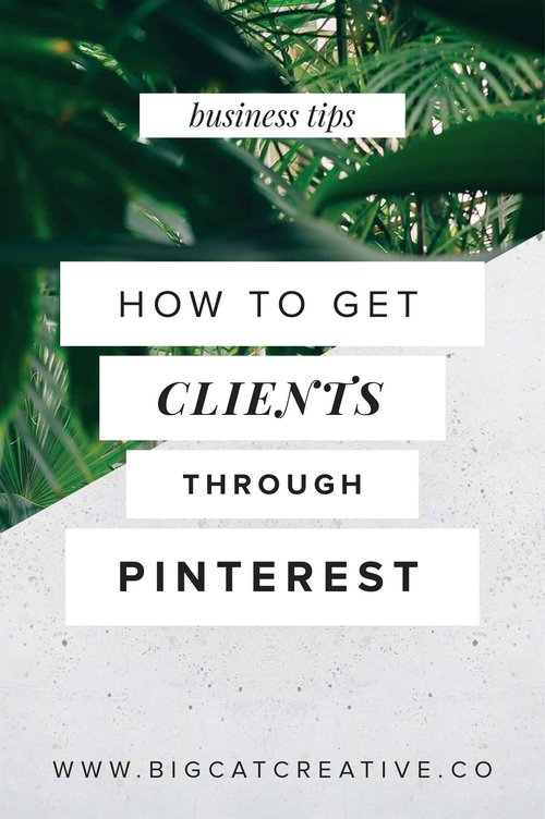 How To Get Clients Using Pinterest