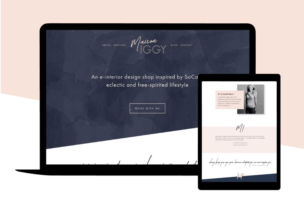 Maison Iggy Squarespace Website Design.png