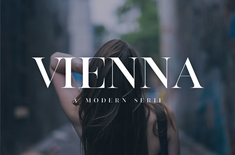 Vienna Font by Big Cat Creative