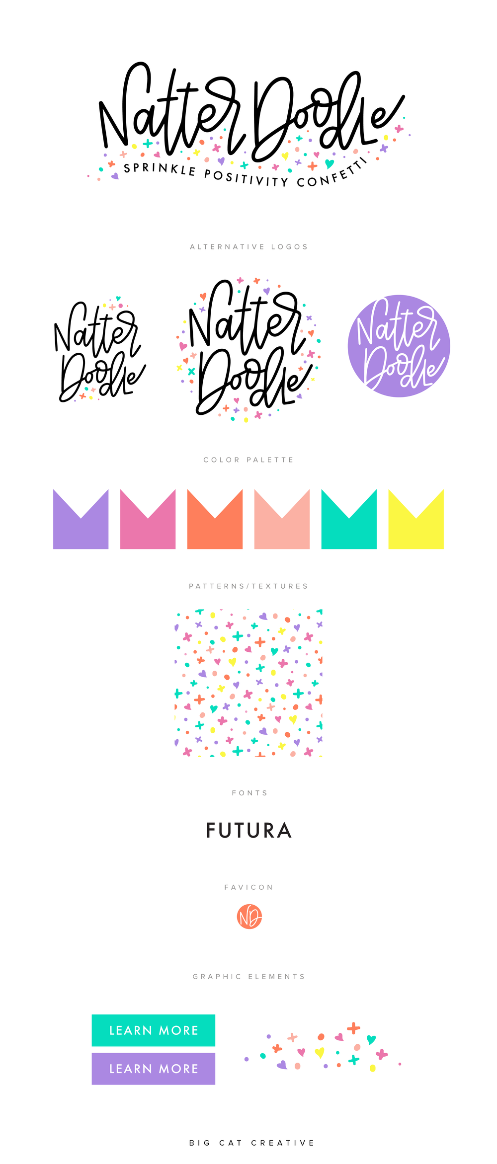 Natterdoodle Brand and Shopify Website Design by Big Cat Creative