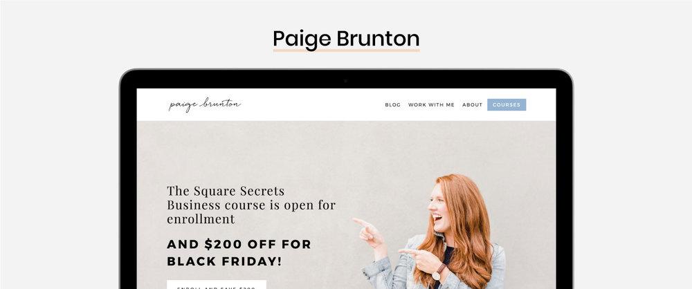 The Best Squarespace Resources - Paige Brunton