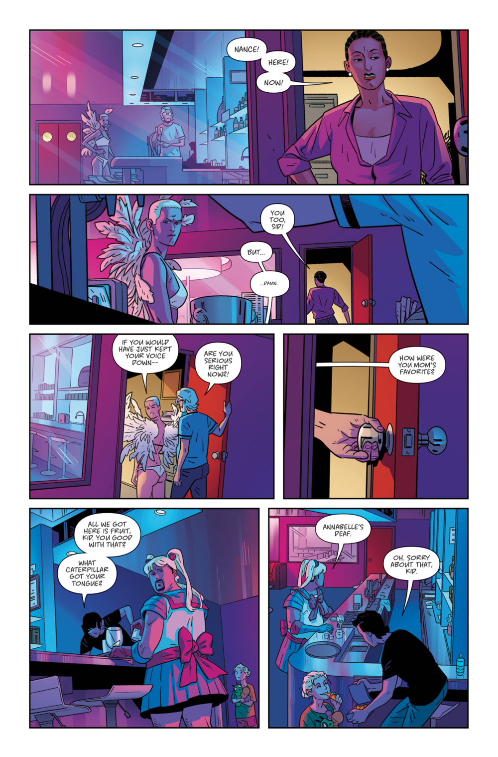 THE RIDE: BURNING DESIRE #1 - Page 6