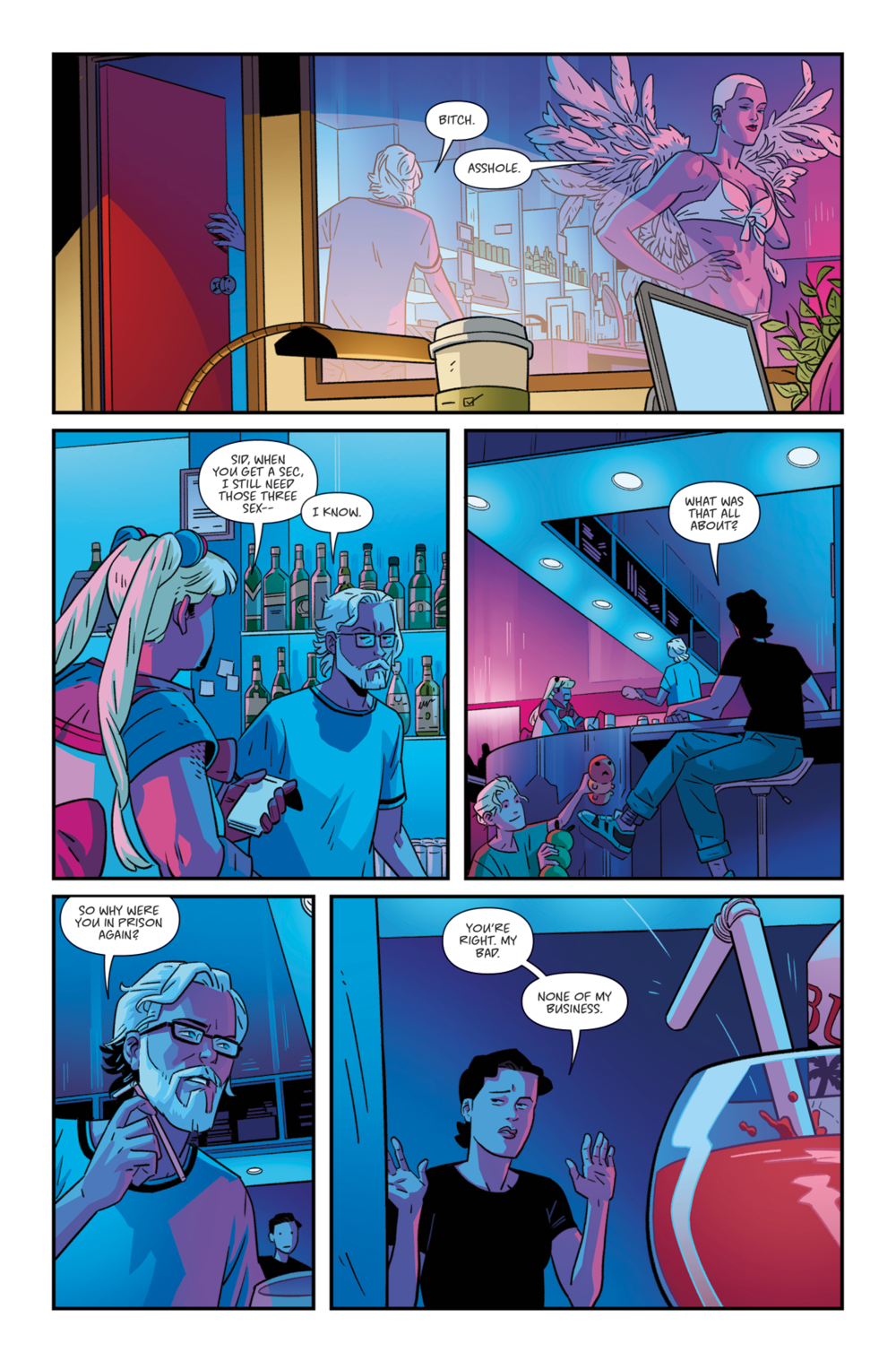 THE RIDE: BURNING DESIRE #1 - Page 7