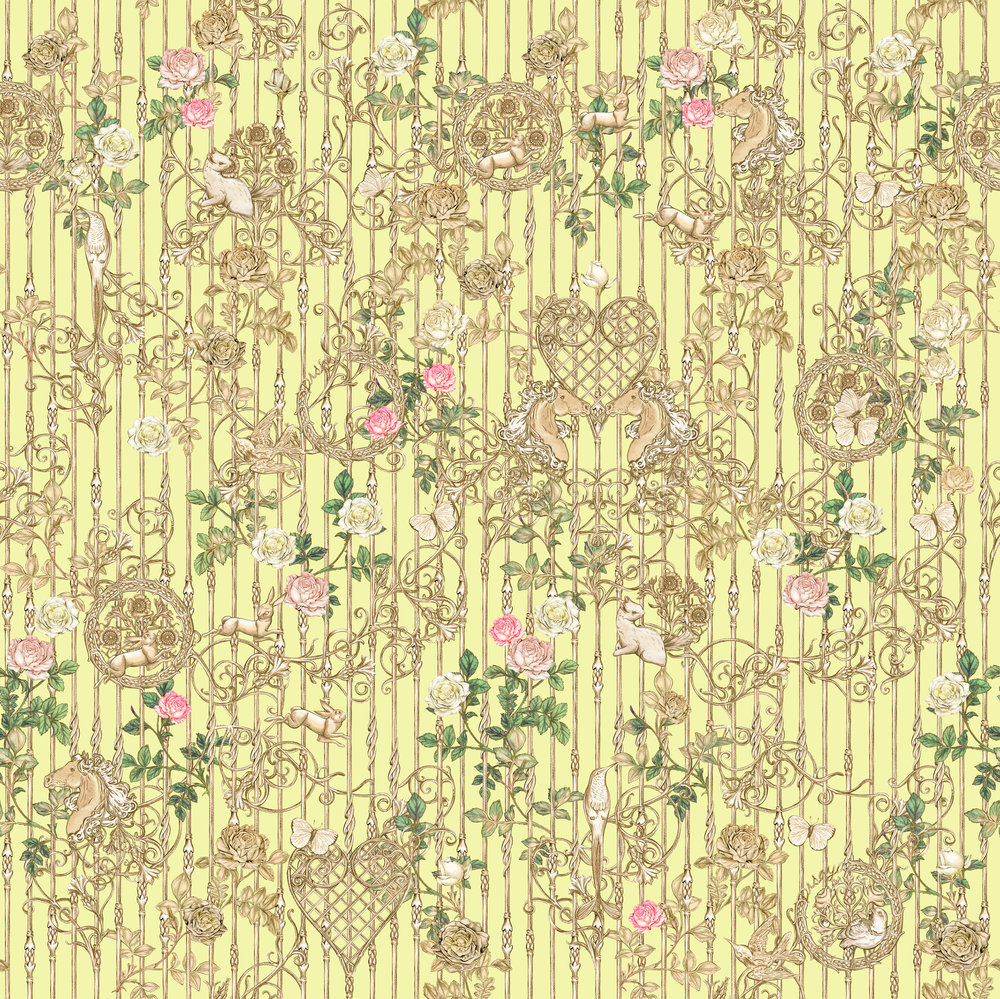 Kisses from the Bloom - Disaya collection Spring Summer 2013 Textile Design