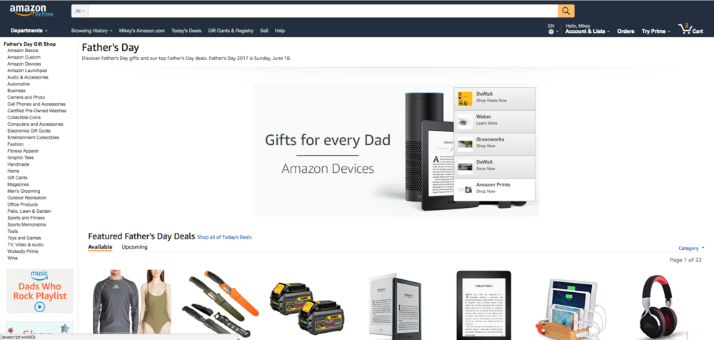 Fathers Day Deals - Visit Amazon.com