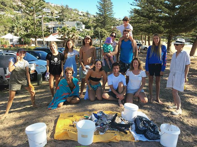 Thanks everyone for coming to our first clean of 2018!!! 💚 Our next Clean will be next Saturday at Avalon Beach! We found: Balloons  Hard plastics 32 Cutlery 11 Barbie 1 Cigs butts 158 Batteries 5 Straws 10 Cigarette pack 3 Styrofoam 8 Lollipop sticks/qtips 7 Cans 3 Soft plastics 65  Micro plastics 75 Hair bands 3 Foam 9 Bottle caps 90 Miscellaneous 254