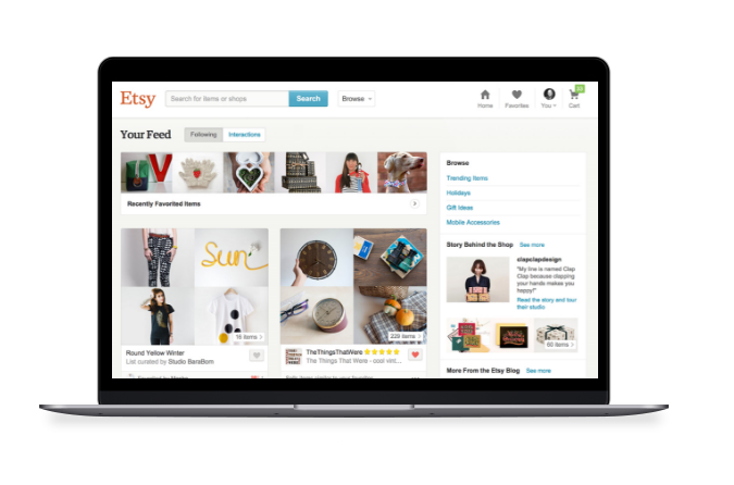 Inventory management for Etsy