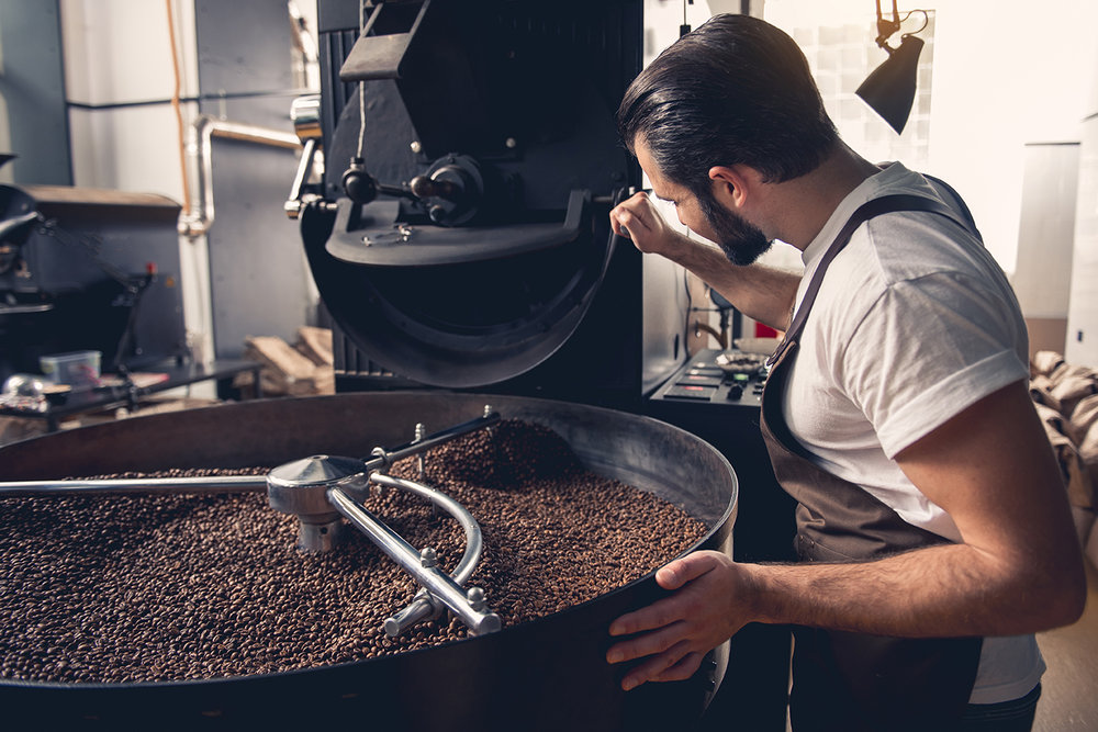 Organized Production - Accurate production costs, custom recipes and automated order prioritization makes a smoothly running roastery.