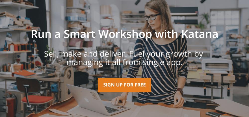 Raw materials inventory management software. Run a Smart Workshop with Katana.
