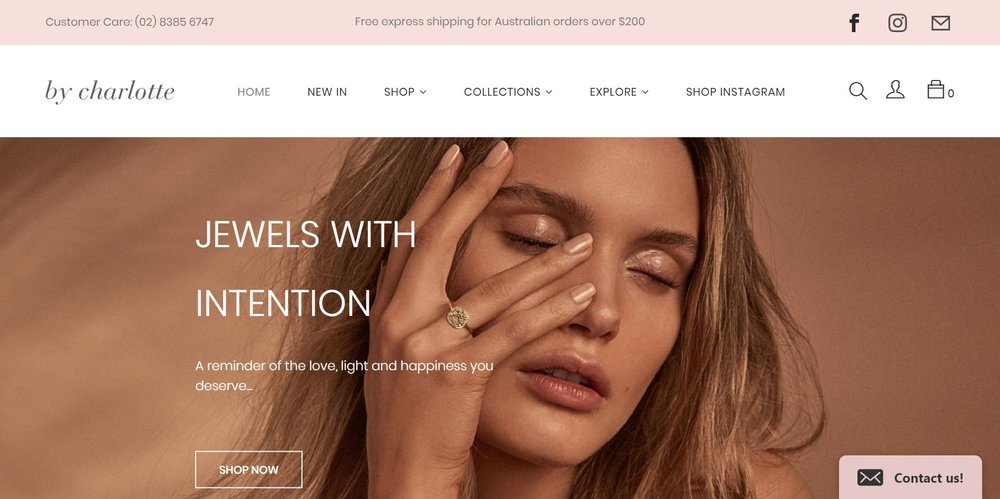 Jewelry stores that use Shopify need to be themselves to rise above the competition.