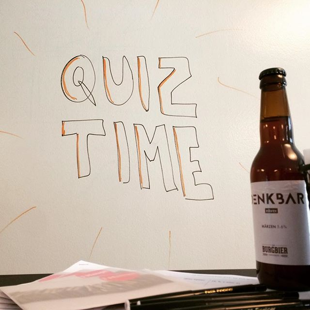 Everything's ready for the big #ux pub quiz tonight! 🎉🍻
