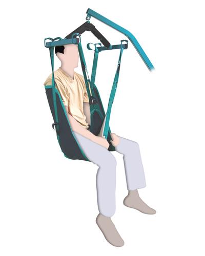 AyudasDinámicas - MODELO CONFORTPrimer arnés acolchado en la parte de las piernas con espuma termoformada que proporciona mayor comodidad al paciente y gran resistencia a la abrasión.