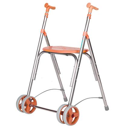 andador con asiento para interior ortopedia parque
