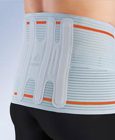 Orliman - Fajas abdominales flexibles y semirrígidas para garantizar la contención lumbar y abdominal. También hay modelos con orificio para ostomizados.